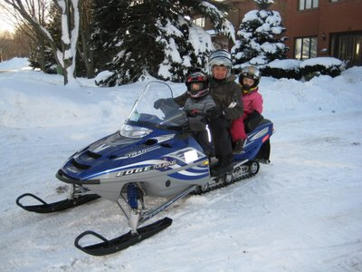 2 up touring snowmobile